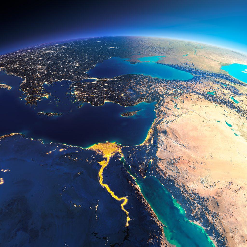 Nile by NASA